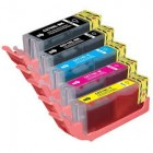 PGI-570XL CLI-571XL Compatible 5 Cartridge Multipack Print Supplies UK